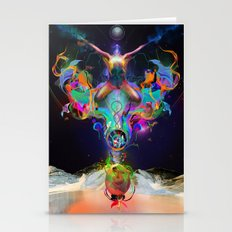 Fractalised Duality Stationery Cards