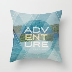 Adventure Is Waiting Throw Pillow