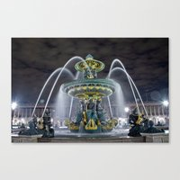 Arcing Waters Canvas Print