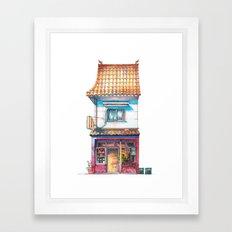 Tokyo Storefront #04 Framed Art Print