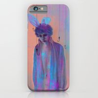 iPhone & iPod Case featuring Chasing Rabbits by Georgiath
