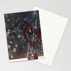 Spiderman vs Goblin Stationery Cards