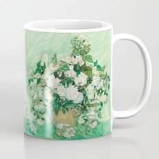 Vase With Pink Roses By … Mug