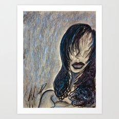 Faceless Identity of Mine Art Print