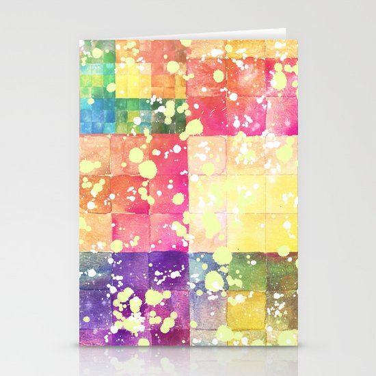 Watercolors - For iphone Stationery Card