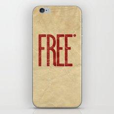FREE* iPhone & iPod Skin