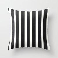 Stripe It! Throw Pillow