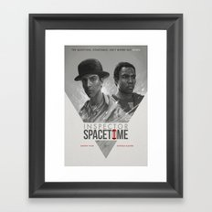 Inspector Spacetime  Framed Art Print