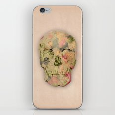 skull1 iPhone & iPod Skin
