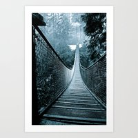 Suspended Adventure Art Print
