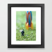 Rocket Man Framed Art Print