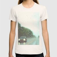 accidental photo Womens Fitted Tee Natural SMALL