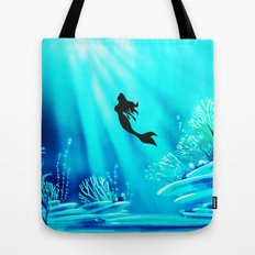Beauty Mermaid Tote Bag