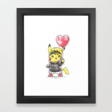 iHeart Birdychu Framed Art Print