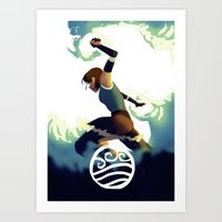 Avatar Korra II Art Print