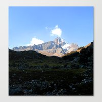 From Huacahuasi Pass,Per… Canvas Print