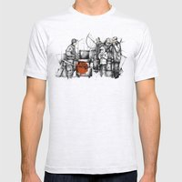Boiler Mens Fitted Tee Ash Grey SMALL