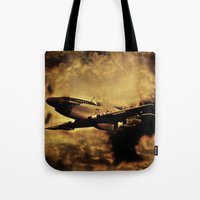 Dixie's Flight In The St… Tote Bag