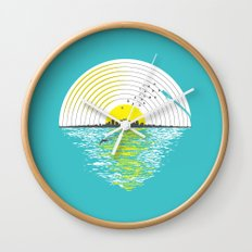 Morning Sounds Wall Clock