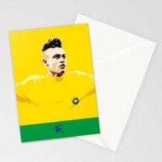Neymar Brasil Stationery Cards