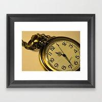 Pocketwatch Framed Art Print