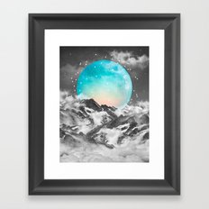 It Seemed To Chase The D… Framed Art Print