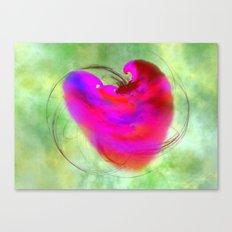 Travelors Heart - reisendes Herz Canvas Print