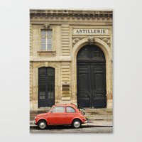 Step Back in Time Canvas Print