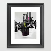 'RUSH'TWO Framed Art Print