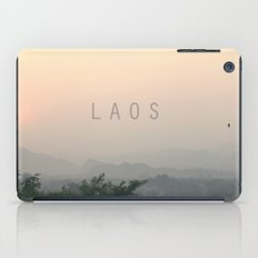 COUNTRY SERIES - LAOS iPad Case