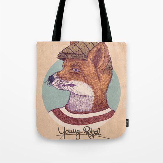 Young Rebel Tote Bag