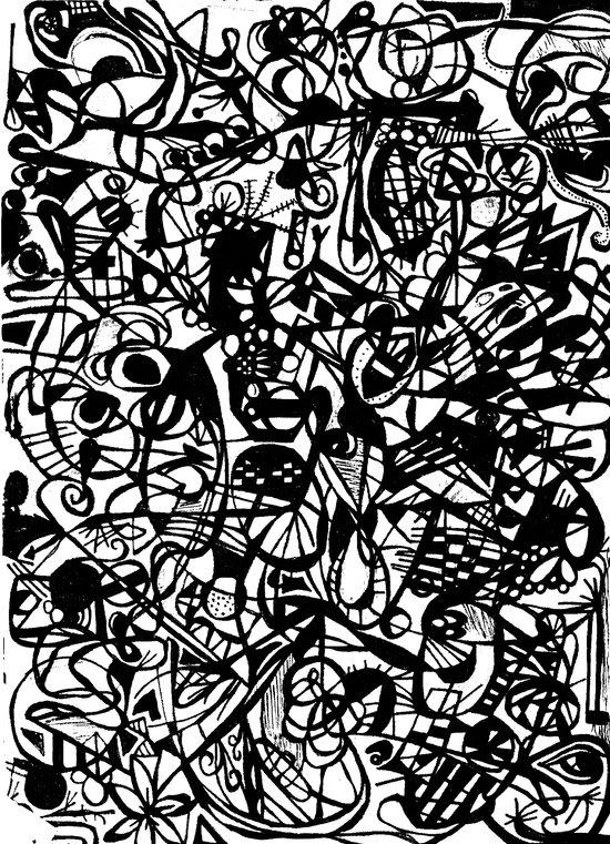 Scan #5 Canvas Print