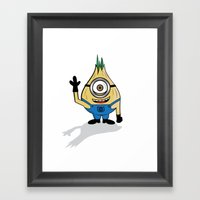 Monion Framed Art Print