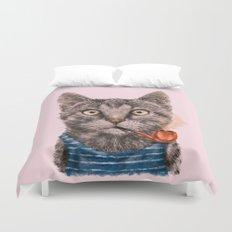 Sailor Cat IX Duvet Cover