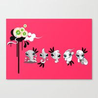 Smudglings Canvas Print