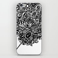 the doodle wand iPhone & iPod Skin