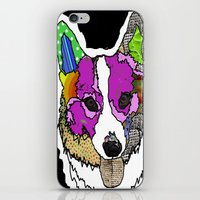 I Love Corgis iPhone & iPod Skin