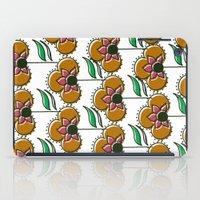 70s inspired pattern iPad Case