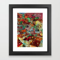 The New Middle -Ages Framed Art Print