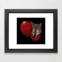 Red Decoy Framed Art Print