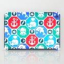 Marine Animals Geometric Pattern iPad Case