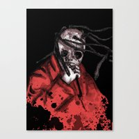 Number Eight Self Titled Canvas Print