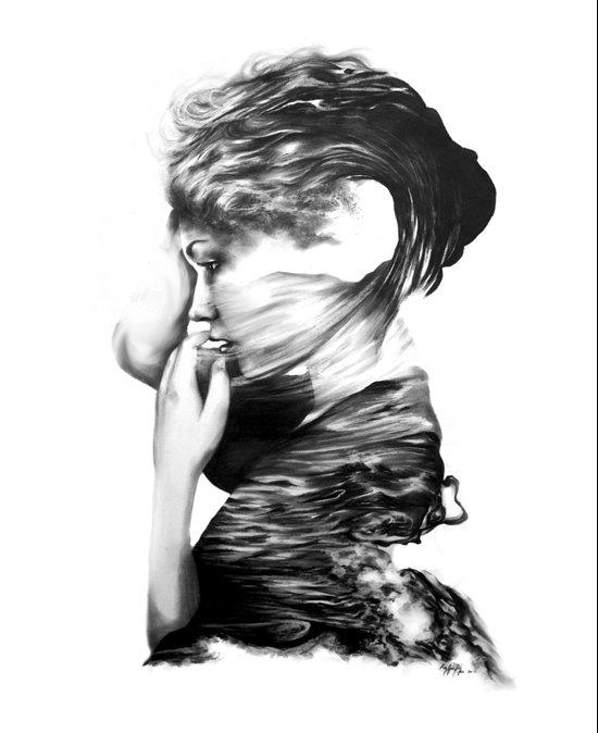 The Sea and the Rhythm // Illustration Art Print