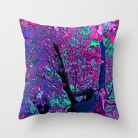 Climbing To The Stars Throw Pillow