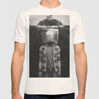 This TV Haze Sucks Me Th… Mens Fitted Tee Natural SMALL