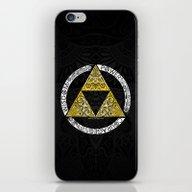 Zelda - Triforce Circle iPhone & iPod Skin