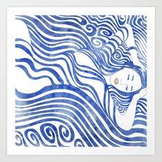 Water Nymph XXVII Art Print