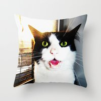 rage Throw Pillow