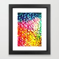 Vibrant Summer  Framed Art Print