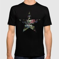 And the Stars look very Different today... Mens Fitted Tee Black SMALL